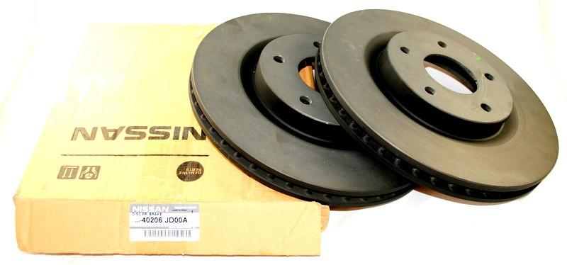 Front Drivetec Brake Discs 295mm Vented Nissan Qashqai//Qashqai 1.6