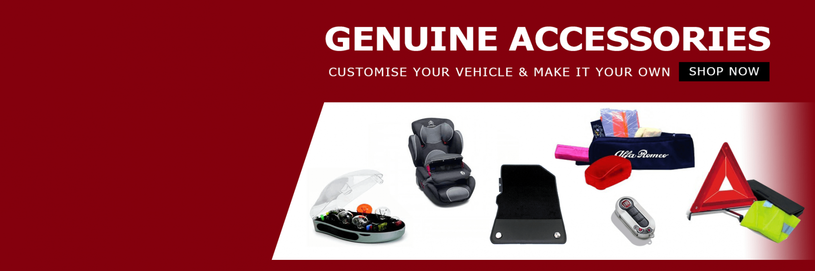 Genuine Accessories at Desira Parts