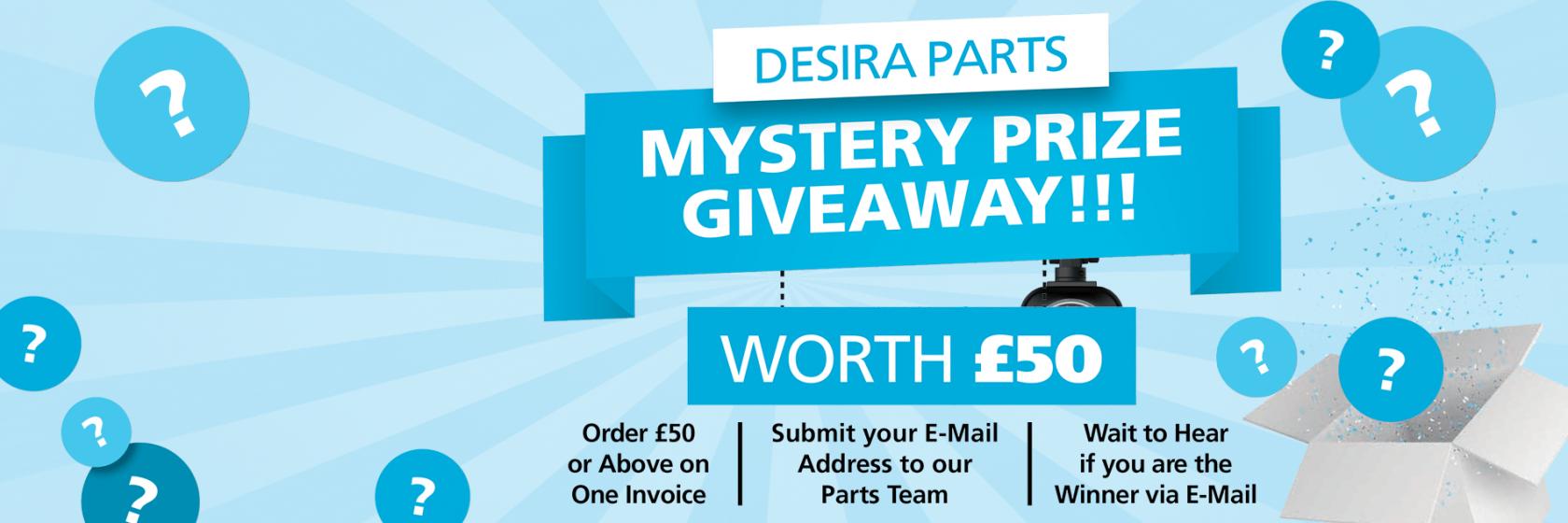 Desira Parts Prize Draw